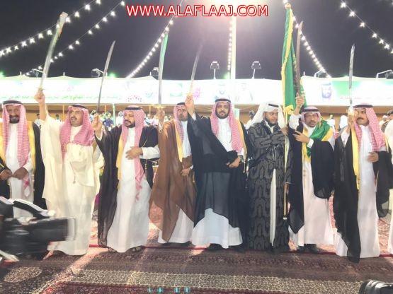 """بالصور .. """"الهزاني"""" يشارك أهالي الأفلاج احتفال العيد بمنتزه سحاب"""