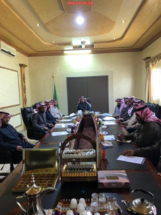 بلدي الهدار يعقد أولى جلساته في عام 2020 ويؤكد على دور المجلس البلدي بما يحقق مصالح المجتمع.
