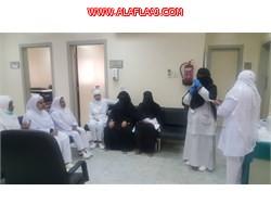 مستشفى الأفلاج ينظم محاضرة و دورة تدريبيه على كيفية إعطاء لقاح .B.C.G