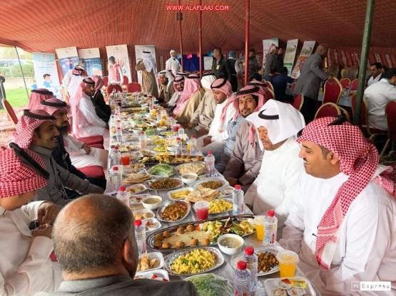 شاهد : مستشفى الأفلاج العام ينظم افطار جماعي لمنسوبيه