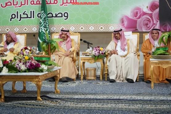 أمير الرياض يدشن مشاريع المليار في محافظة الأفلاج