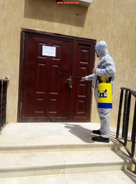 """الخامري: أعمال الصيانة والنظافة لا تزال مستمرة في مساجد منطقة مكة المكرمة وجوامعها لمواجهة ''كورونا"""""""