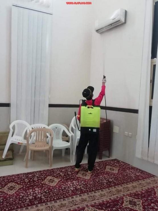 العتيبي: شركات الصيانة ومؤسساتها تعقم مساجد القصيم وجوامعها فترة توقفها مؤقتاً