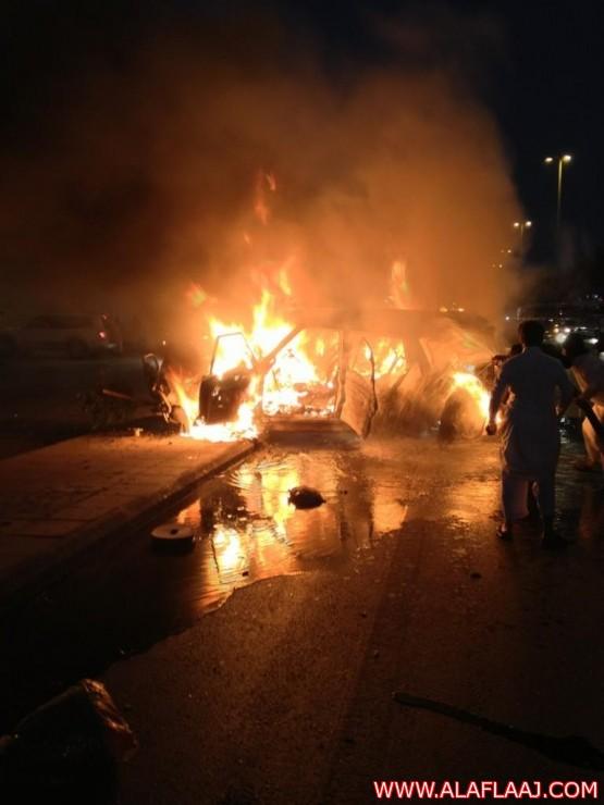 إصابة عدد من الأشخاص في حادث بطريق المئه