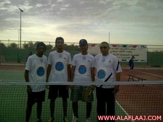 جامعة الامير سلمان بن عبد العزيز تشارك في بطولة التنس الأرضي ضمن دوري الجامعات السعودية