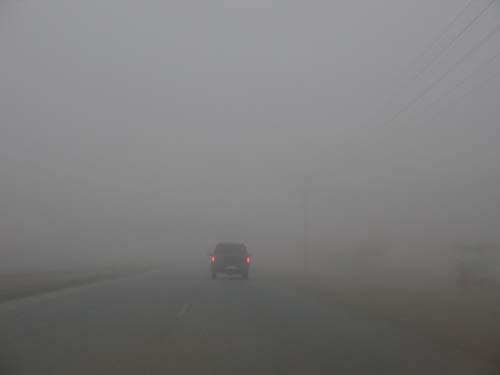 الطقس: استمرار تأثير الضباب في الرؤية الأفقية بمعظم المناطق آخر الليل
