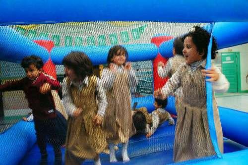 مدرسة الروضة الأولى بالصغو تحتفل باليوم العالمي للأسرة