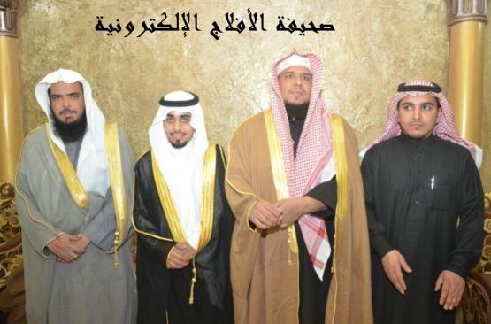 """الشيخ مرضي الحبشان يحتفل بزواج شقيقه """"خالد"""""""
