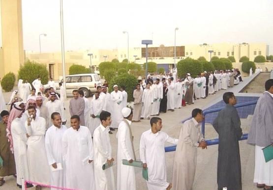 الإحصاءات : 588 ألف سعودي عاطل خلال 2012.. وانخفاض البطالة
