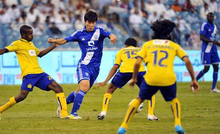 الهلال يواصل سيطرته على النصر بفارق 10 مباريات والنصر يعجز عن الفوز لخمسة مواسم