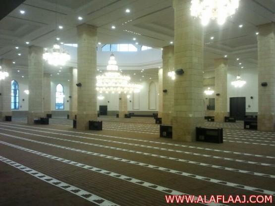 أهالي الأفلاج الصلاة بجامع الملك عبدالله حلم طال انتظاره