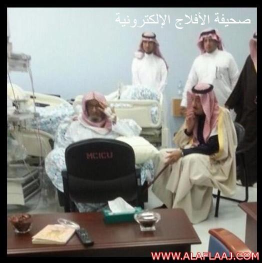 ولي العهد : يزور المستشار بالديوان الملكي الشيخ ناصر الشثري