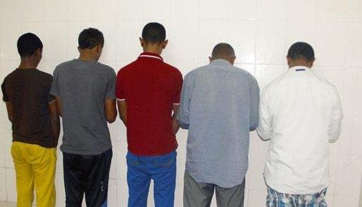 القبض على عصابة مسلحة من الأثيوبين بالفرشة