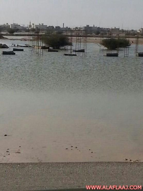 مخططات سكنية جديدة بالأفلاج تعرض المواطنين لخطر السيول