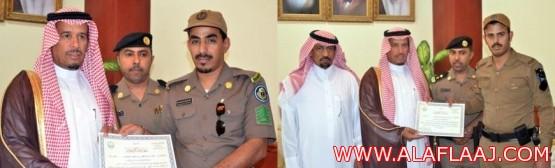 المقدم : مبارك العاتي تكريم ضباط وأفراد امن الطرق حافزاً لبذل مزيد من من الجهد