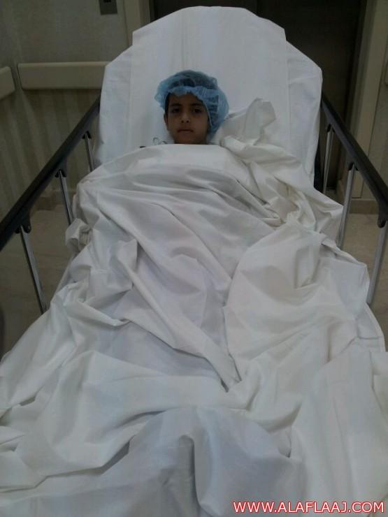 نجاح العملية الجراحية للطالب أدريس الشكره