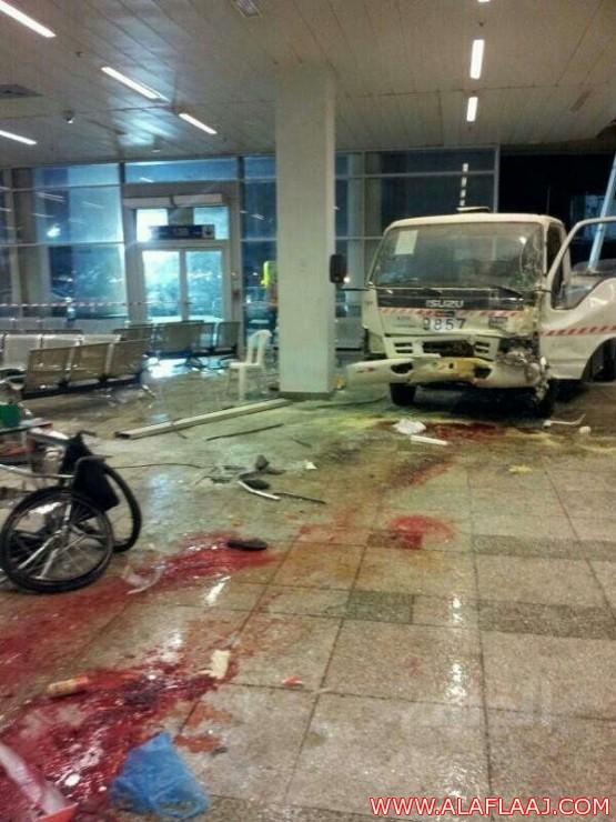 وفاة «إيرانيتان» في اصطدام عنيف بمطار الملك عبد العزيز بجدة