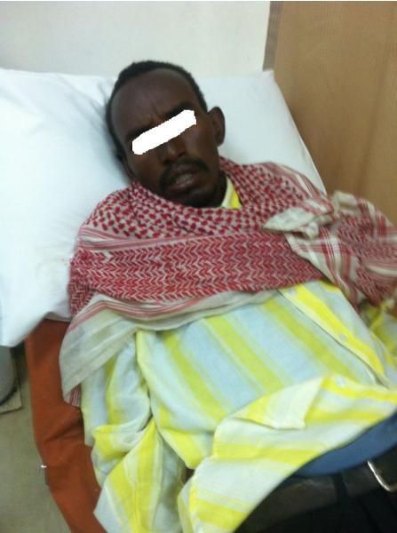 """مستشفى الأفلاج يتحرى إصابة أثيوبي مخالف بــ""""الإيدز"""""""