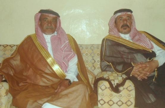 الشيخان سحمي وعبدالله الهوامله يرحبان بأمير الرياض ونائبه
