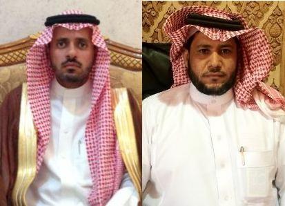 رئيس بلدية الهدار ومساعده يرحبون بسموه الكريم في محافظة الأفلاج