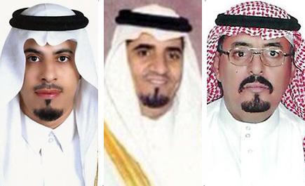 معبرين عن فرحتهم بالزيارة الميمونة آل رشود يرحبون بأمير الرياض ونائبه وصحبهما الكرام