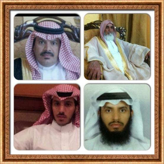 أسرة آل ذيب بمركز الستارة يعبرون عن فرحتهم بمناسبة زيارة أمير الرياض ونائبه