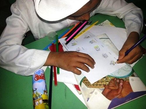 فعاليات مكافحة الدرن بمدرسة أنس بن مالك