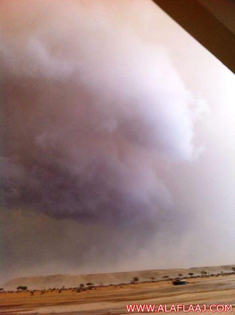 أمطار هجرة الطوال بمحافظة الأفلاج ( بالصور )