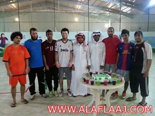 """حفل تكريم شخصي للاعبي """" التوباد""""  المنضمين للمنتخب السعودي"""