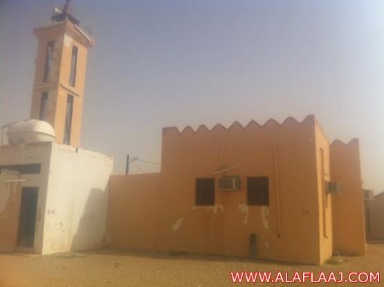 بعد الأمطار مسجد في حاجة لترميم