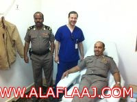 مستشفى الأفلاج يقيم حملة للتبرع بالدم بالتعاون مع أمن الطرق