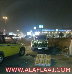 حملات الأمانة ترعب الباعة الجائلين في شوارع الرياض