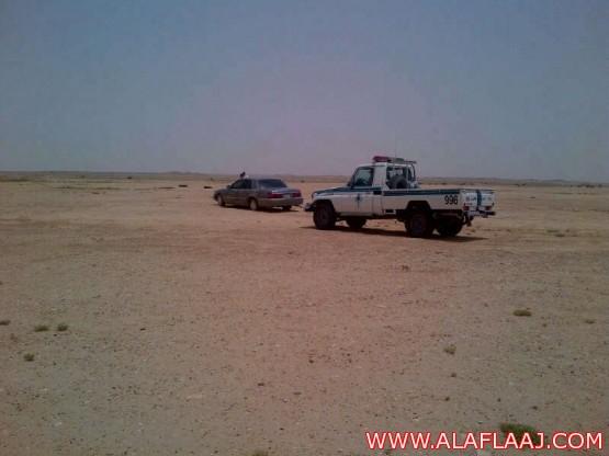 الجهات الأمنية تباشر حادثاً مرورياً شمال المحافظة 30 كم