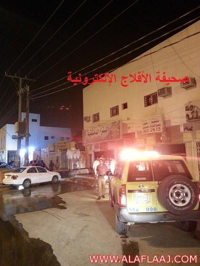 حريق يلتهم مطعم البيتزا الدمشقية بالمحافظة وفرق الدفاع المدني تسيطر عليه