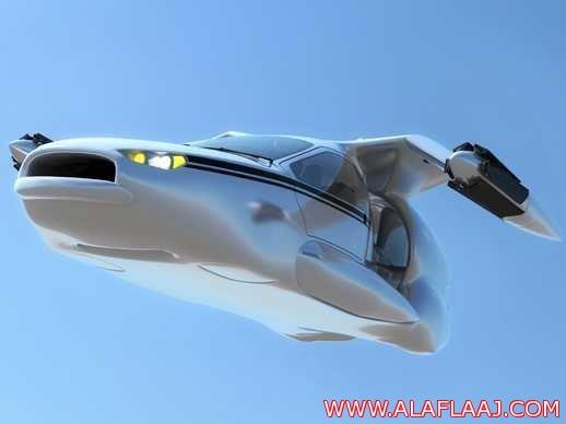 بالصور .. كشف النقاب عن أول سيارة طائرة في العالم سعرها نحو مليون ريال