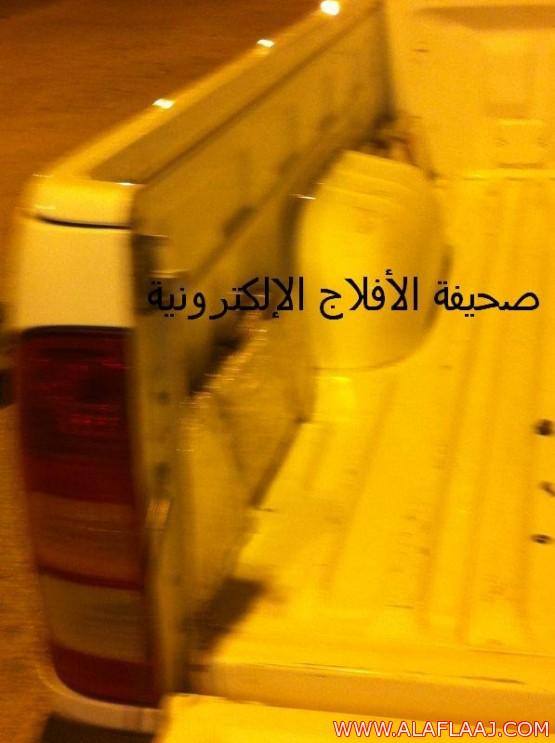إحباط تهريب42 بلاطة حشيش في نقطة تفتيش الأفلاج
