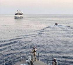 سفينة الأفلاج تُنقذ بحارة عشرينية من أوكرانية