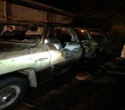مدني ستارة يخمد حريق اشتعل في مركبة