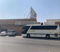 إنسان فرع الأفلاج تنظم رحلة إلى مكة المكرمة لأبناء الجمعية