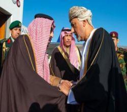 خادم الحرمين يصل إلى عُمان لتقديم العزاء في وفاة السلطان قابوس